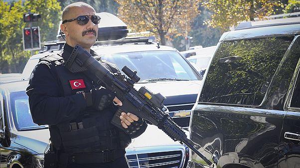ABD'nin vetosu sonrası Erdoğan'ın korumaları yerli silah kullanmaya başladı