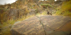 آلماتي: ممر تانبالي وصور محفورة في الصخور تحكي حياة العصر البرونزي