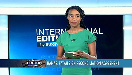 在加泰罗尼亚独立投票的不确定性,哈马斯与法塔赫签署和解协议[国际版]