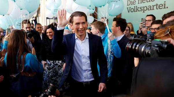 Wahlkampfabschluss in Österreich: Kurz will Bundeskanzler werden