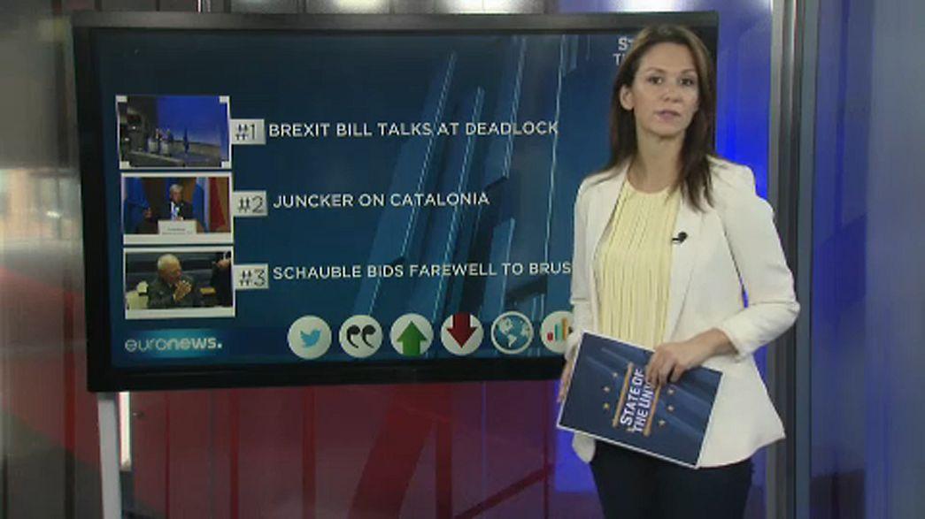 """""""Estado da União"""": atrasos no Brexit e confusão na Catalunha"""