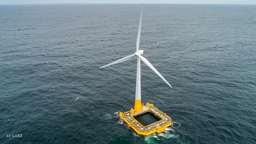 La première éolienne flottante de France inaugurée