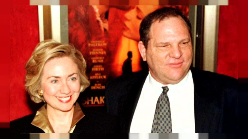 Hillary Clinton is elítélte Weinsteint