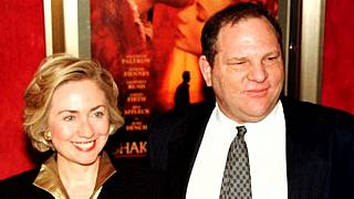 Hillary Clinton 'shocked and appalled' at Harvey Weinstein claims