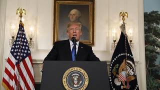 Trump threatens to cancel Iran nuclear deal if sanctions are not reimposed