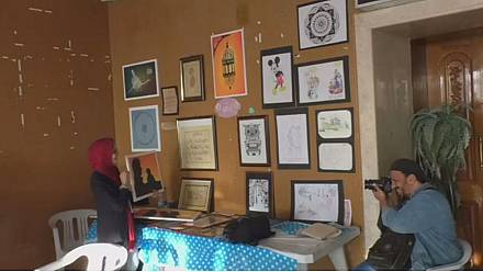 Budding Libyan artists showcase talents in arts festival