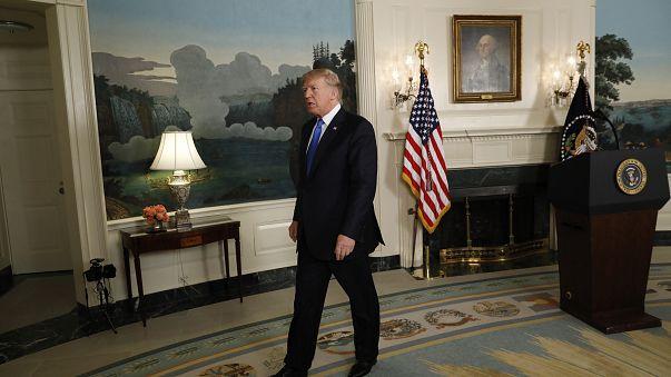 ترامب: إيران لم تلتزم بالاتفاق النووي ويمكننا الانسحاب منه في أي وقت