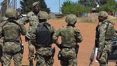 Former Lesotho army chief arrested