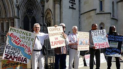 Zambian villagers win right to sue mining company in U.K. over pollution