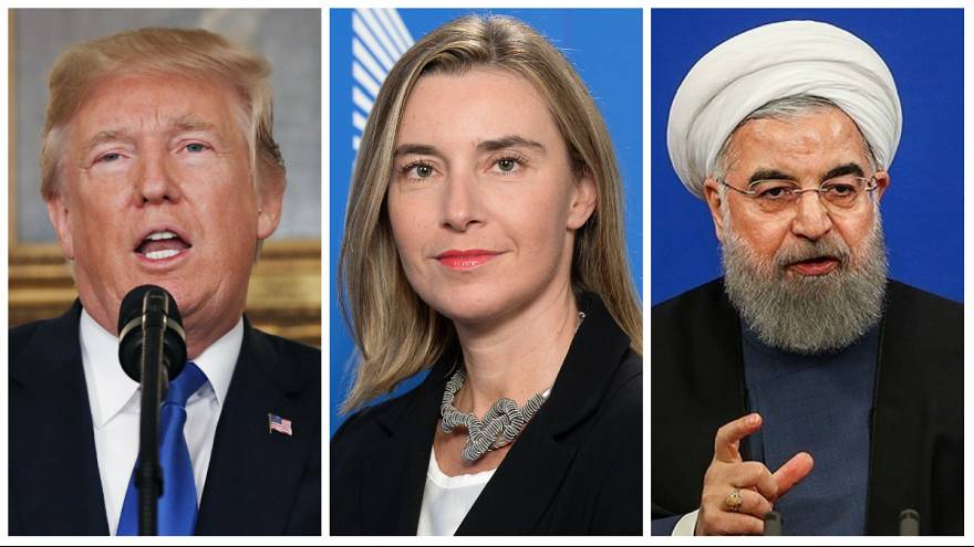Ruhani'den Trump'a: Sizden başka bir şey beklemiyorduk