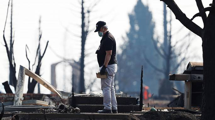 Weitere Opfer in kalifornischen Waldbränden