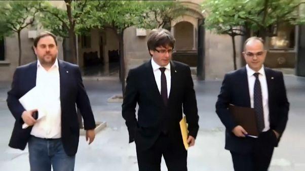 Catalogne : Puigdemont sous pression jusqu'à lundi