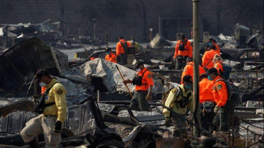 Autoridades californianas dizem que 40 pessoas morreram nos incêndios