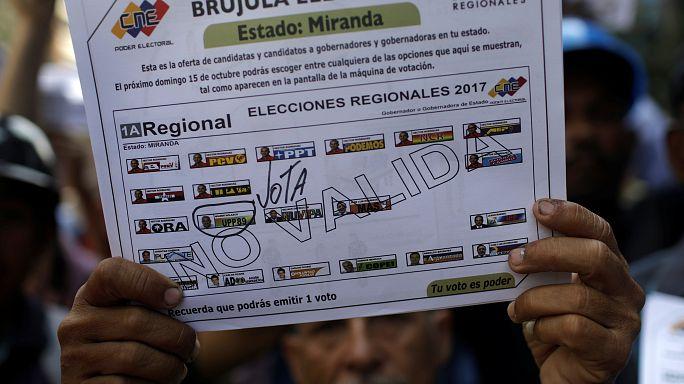 В Венесуэле выбирают губернаторов