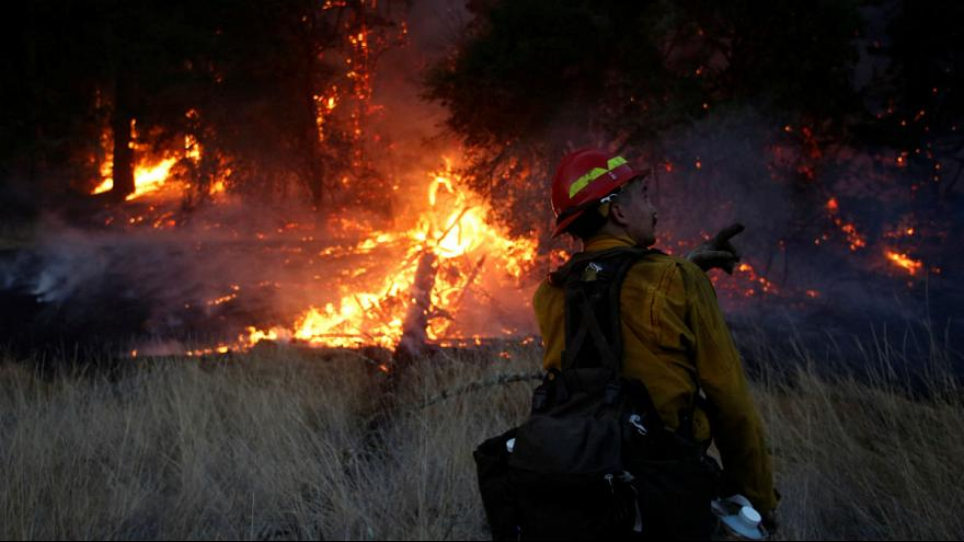 Смертоносный огонь на севере Калифорнии