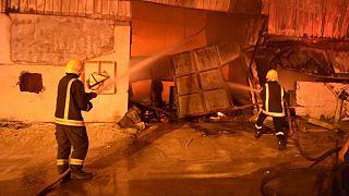 مصرع 10 أشخاص وإصابة 3 في حريق بالرياض