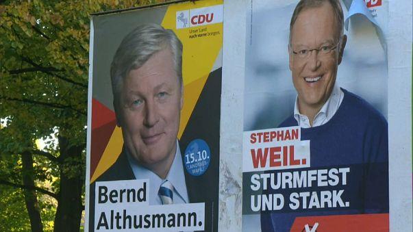 Hochrechnung Niedersachsen: SPD klar vorn