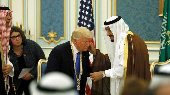 استقبال پادشاه عربستان از سیاست آمریکا علیه ایران