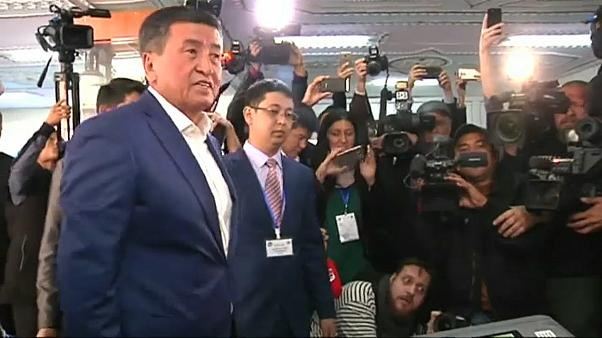 Kyrgyzstan set for surprise presidential election result