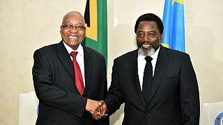 A Kinshasa, Zuma exprime son soutien au processus électoral en RDC (présidence congolaise)