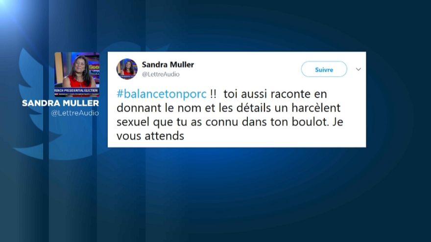 Harcèlement sexuel : #balancetonporc