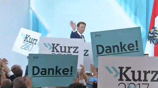 Ausztria: ünnepel a jobboldal, vádaskodik a bal