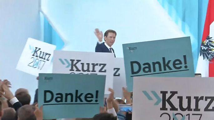 L'Austria incorona il  leader dei popolari alla guida del paese
