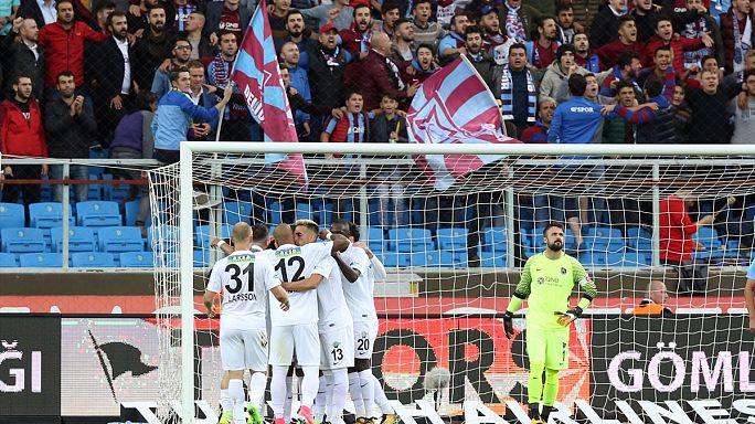 Trabzonspor'a kendi evinde şok yenilgi