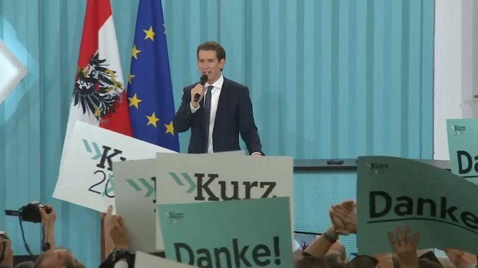 Autriche : Sebastian Kurz jubile