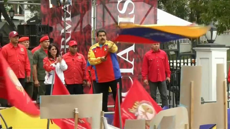 Maduro wins surprise election victory in Venezuela