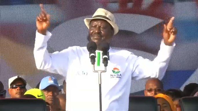 كينيا: رايلا أودينغا زعيم المعارضة يدعو أنصاره للتظاهر في الشوارع