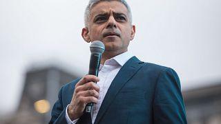 Image: London Mayor Sadiq Khan