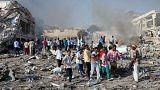 Mogadişu'da kurbanların sayısı artıyor