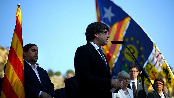 Katalan lider Puigdemont'un yanıtı 'diyalog' oldu