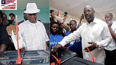 Weah, Vice President Boakai heading to a run-off in Liberia