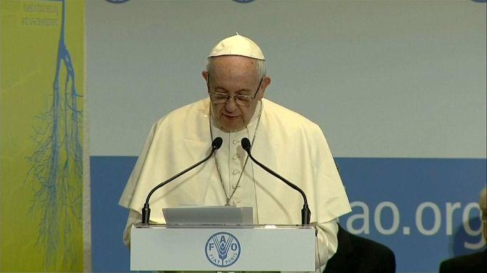 Nutrire significa amare secondo Papa Francesco