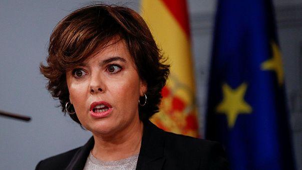 Madrid diz que o diálogo com a Catalunha se faz no Parlamento