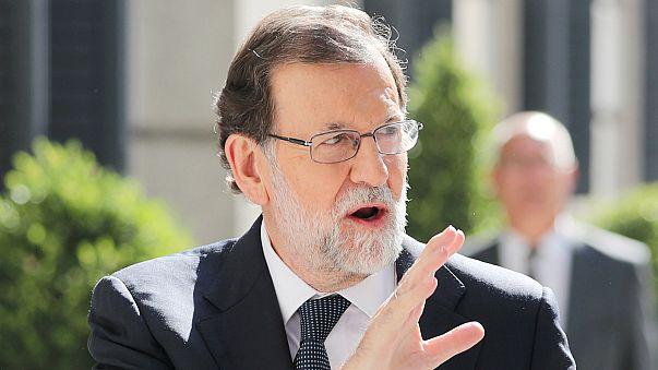 """Mariano Rajoy visita Galicia """"para vencer al fuego y atender a la población"""""""