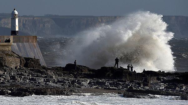 Storm Ophelia blasts the UK and Ireland