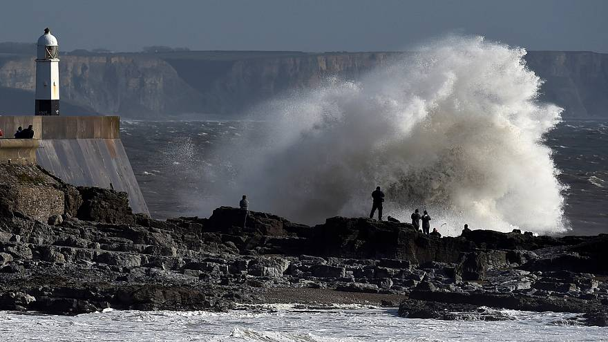 Storm Ophelia blasts the UK and Ireland