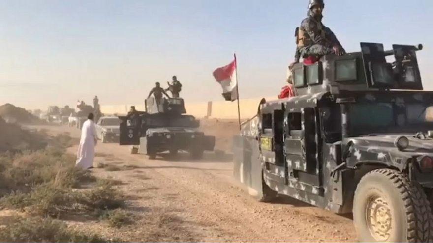 Las fuerzas iraquíes avanzan sobre territorio kurdo