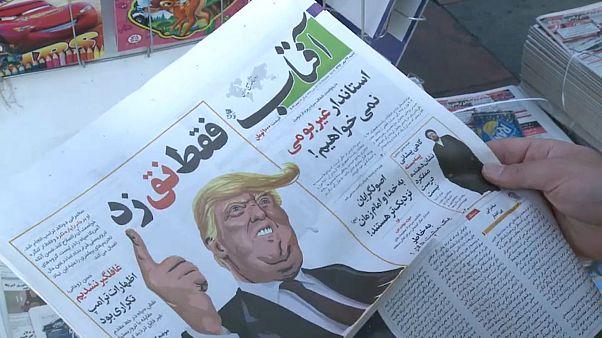 Iranian reaction to Trump threats