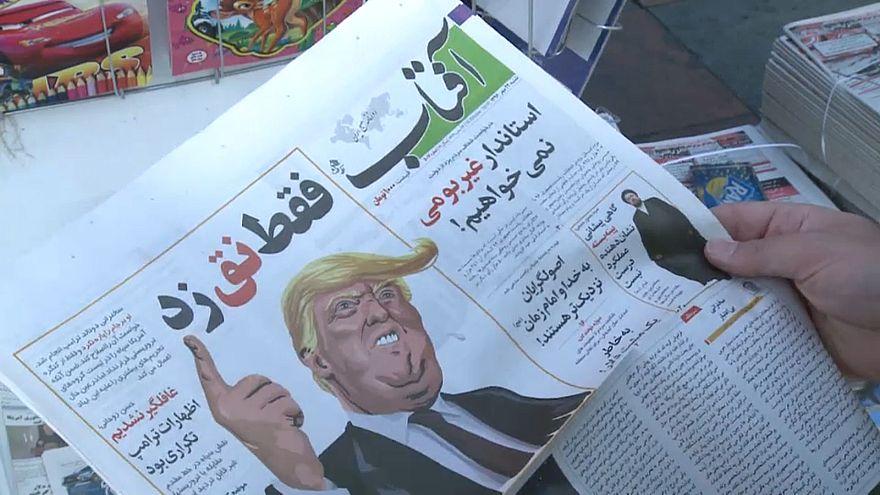 Las amenazas de Trump recibidas en Irán con escepticismo