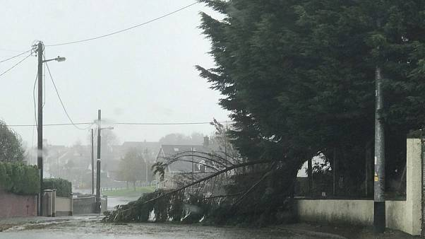 At least three dead as Storm Ophelia batters Ireland