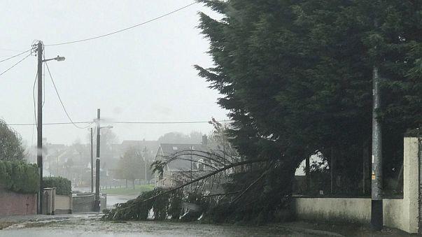 """Alarmstufe Rot"": Tödlicher Sturm über Irland"
