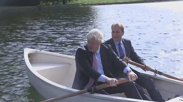 Un paseo en barca con Boris Johnson