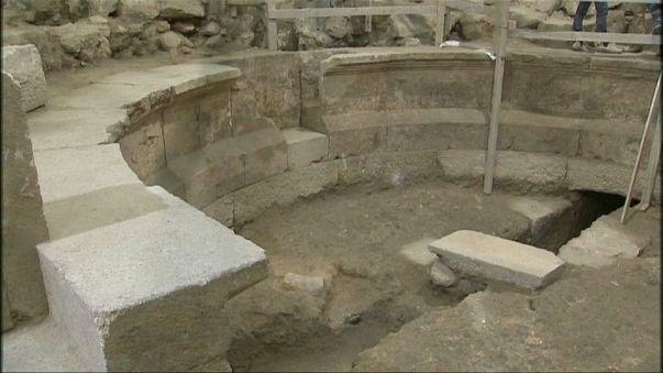 Fund: Jerusalemer Theater aus der Römerzeit