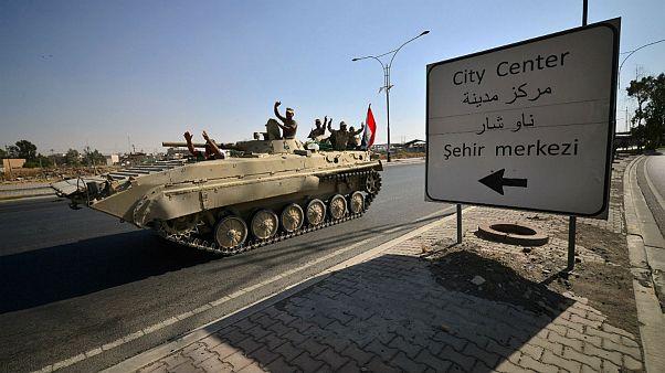 نیروهای عراقی کنترل کرکوک را در اختیار گرفتند