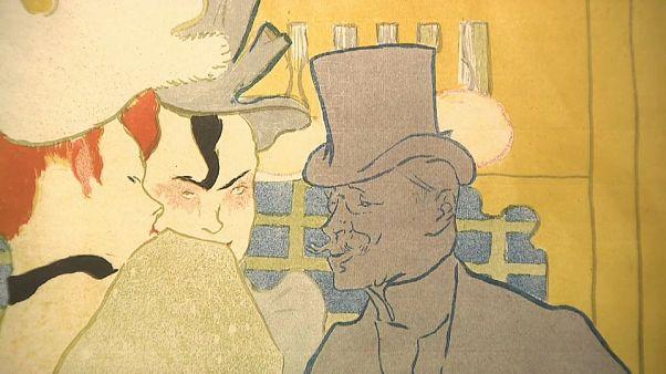 Exposição de Toulouse-Lautrec em Milão