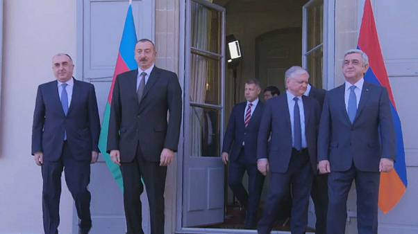 Azerbaijan and Armenia meet over disputed territory
